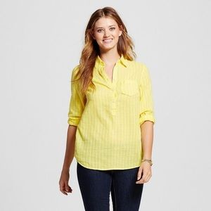 Merona Yellow Bliss Top